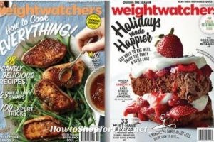 2nd Offer for a Free Subscription to Weight Watchers Magazine!