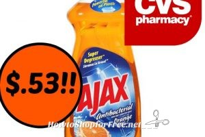 Hot Deal Ajax Dish Soap $.53 At CVS (2/19/17-2/25/17)