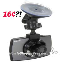 16¢ Dash Camera + 4GB SD Card… Glitch?