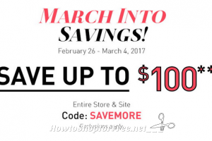 """Big Lots """"March Into Savings"""" with up to $100 OFF!"""