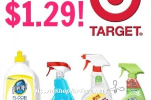 Cleaning Product As Low 1 29 At Target