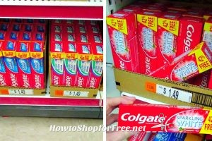 HUGE Tubes of Colgate only 99¢ at Job Lot!!
