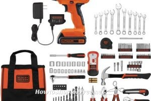 OMG, 10¢ BLACK+DECKER Drill Kits.. Perfect for Dad!!