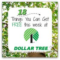 18 FREE Things at Dollar Tree, through 2/15