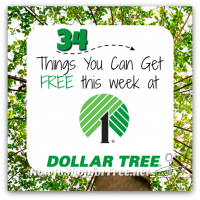 What's Free at Dollar Tree?! 34 FREEBIES ~ March 23-29
