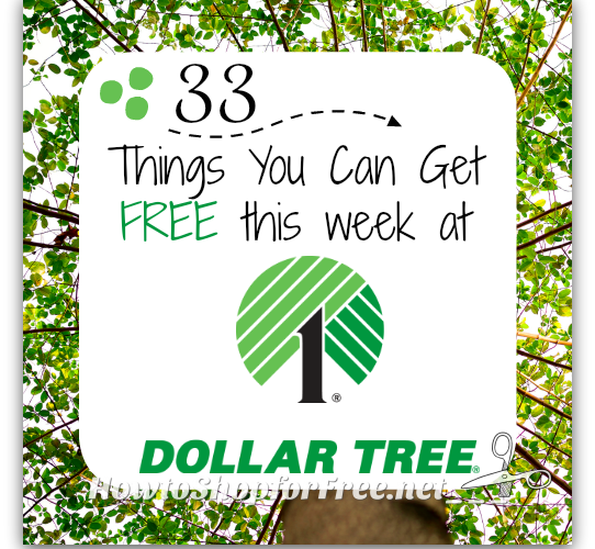 33 Dollar Tree FREEBIES ~Get em while they're HOT!