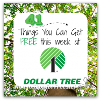 41 Freebies at Dollar Tree, through 3/8 ~ Some Exp. Before, HURRY!