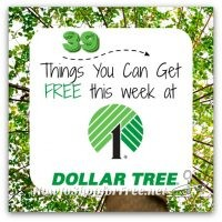 39 FREEBIES at Dollar Tree! WOWZER!!