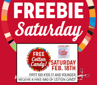 2/18: Kmart Freebie Saturday ~ FREE Cotton Candy!