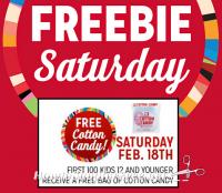 2/18: Kmart Freebie Saturday ~ FREE Cotton Candy!