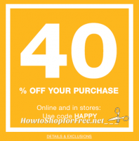 Shopping at GAP Today? (in-store or online) Save 40%!
