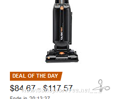 Save over 40% on Hoover vacuums—Deal of the Day