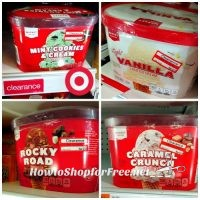 Ice Cream Clearance @ Target (Warwick; ymmv) + 5% Cartwheel Offer!