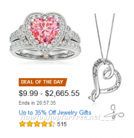 Up to 35% Off Valentine's Day Jewelry—Deal of the Day