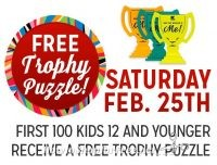 2/25: Kmart Freebie Saturday ~ FREE Trophy Puzzle!