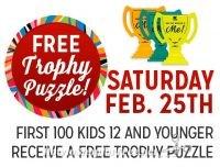 2/25: Kmart Freebie Saturday ~ FREE Trophy Puzzle!