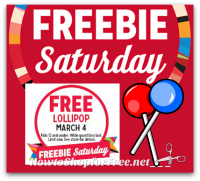 3/4 Kmart Freebie Saturday ~ Free Lollipop!