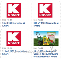 NEW Kmart Store Coupons ~ Valid through 2/28!
