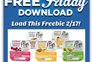 "2/17: FREE Chobani ""Flip"" Friday Download for Kroger+affiliates!"