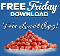 Free Friday Download ~ Lindt Chocolate Egg for Kroger+Affiliates