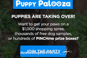 Today is a PINCHme Puppy Palooza!!! (2/14)