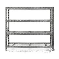 77″x72″ Steel Shelving Unit UNDER $140! (Was/$300)