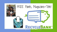 NEW Recyclebank Freebies ~ 20 Points, Essence Magazine+Tote!