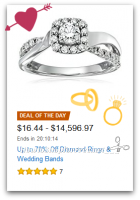 Up to 70% Off Diamond Rings & Bands—Deal of the Day