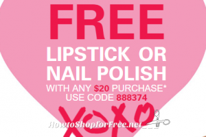 FREE Lipstick or Nail Polish wys $20 @ Sally Beauty!