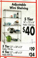 Stockpile Shelving as low as $19 at #OSJL ~ Great Use for Crazy Deal GC!