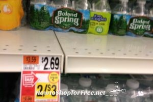 Poland Spring 12 Packs 50¢