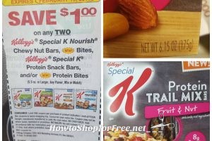 .50 Special K Protein Trail Mix Bars @ Dollar Tree ~ Yum!!