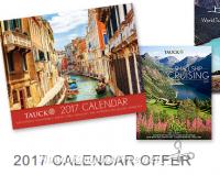 FREE 2017 Tauck Calendar + #Travel Brochures!