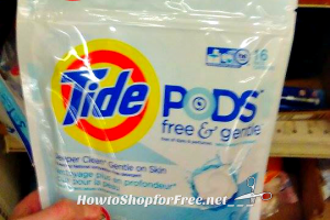 16ct. Tide PODS Free & Gentle for $2.49 @ Job Lot