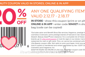 Grab a NEW Ulta Coupon to use through 2/18!