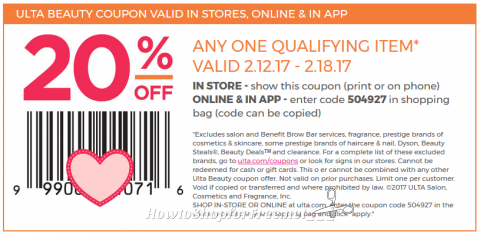 20 Ulta Coupon How To Shop For Free With Kathy Spencer