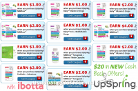 $20 in NEW UpSpring® Ibotta Cash Back Offers, WOW!