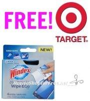 FREE Windex Wipes at Target!!