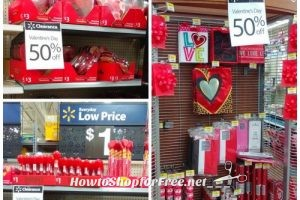 50% OFF Valentine's Day at Walmart ~ Everything!