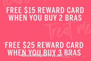 *Last Call* for Victoria's Secrets Rewards Cards wyb Bras!