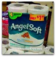 55¢ Angel Soft 4pks at Dollar Tree ~NEW Q!