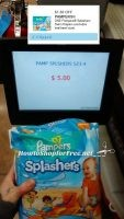 $3.50 Pampers Splashers with NEW Coupon and #Clearance!