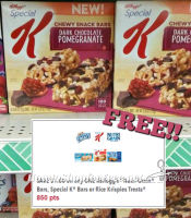 FREE Special K Chewy Bars @ Dollar Tree w/ KFR Coupon!