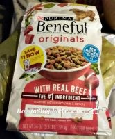 3.5lb Purina Beneful Dry Dog Food ONLY 99¢