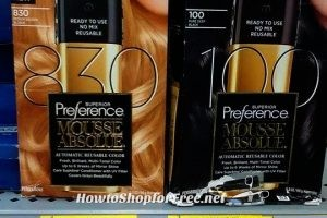 68% OFF L'Oreal Superior Preference Mousse Absolue!