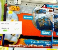 $15 Star Wars Rebels Sheet Set ~2 in Stock @ Coventry, RI #Walmart