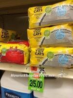 Tidy Cat 50¢ at Shaw's