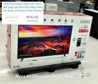 60″ VIZIO SmartCast LED Smart Home Theater ~as low as $542!