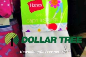 Hanes Girl's Capri Leggings $1 at Dollar Tree ~Perfect for Spring & Summer!