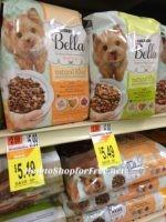 Bella Dog Food $2.49 at Shaw's